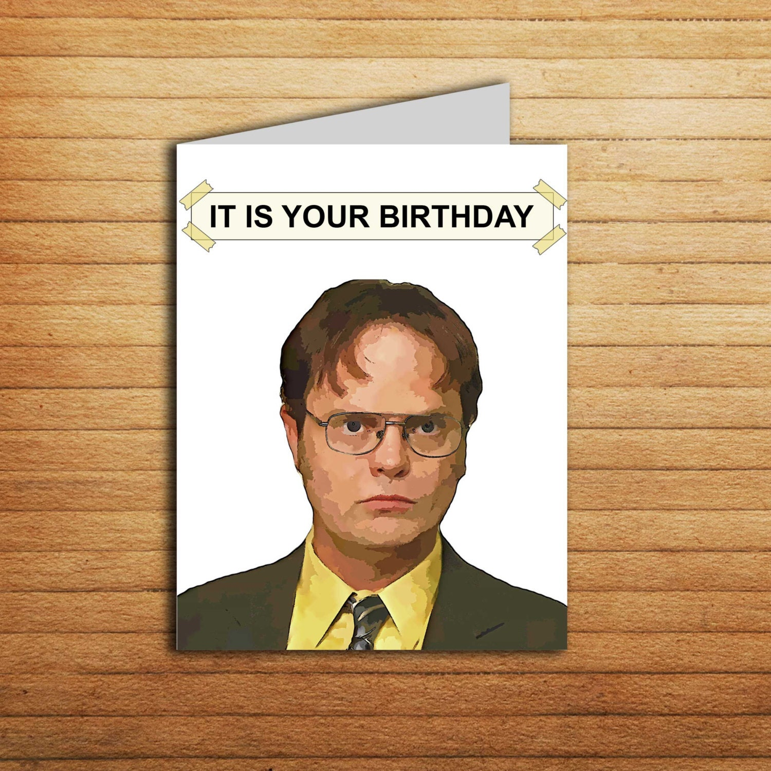 The Office Birthday Card Office tv show cards Printable It Is – Michael Jordan Birthday Card