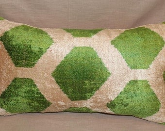green ikat pillow case x decorative pillows for couch