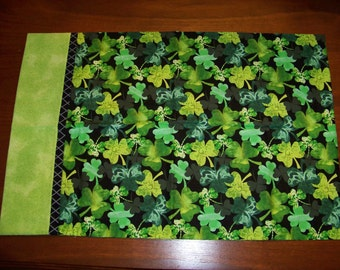 Handmade Shamrock Pillowcase(s)