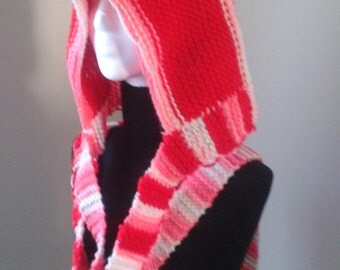 Strawberry shortcake inspired hood