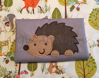 Hedgehog Applique Design