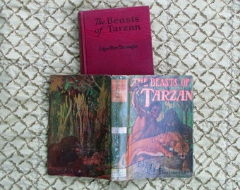 REDUCED 1916 Tarzan Book, Vintage Book