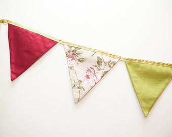 Bunting for twin size