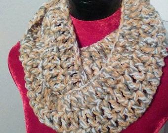 Crocheted snood