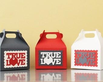 20 gift boxes/boxes/boxes/jordan almonds wedding favor bag wedding confettta