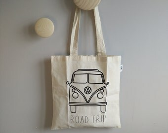 Tote Bag Road Trip / bag Van VW