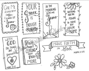 Bible Journaling Faithful Promises 3 Coffee And Jesus