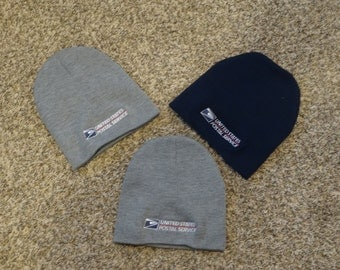 USPS embroidered postal beanie cap brand new