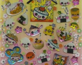 Rare ** Kawaii Sticker Sheet ** Crux **