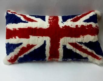 Union Jack UK Flag Cushion