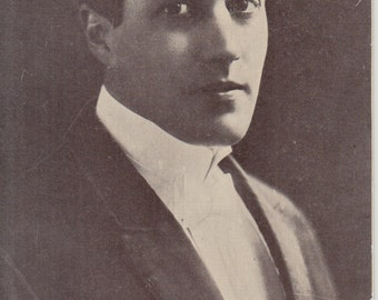 Vintage Postcard - Carlyle Blackwell American Silent Movie Actor and Director