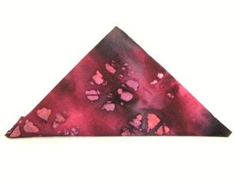 Purple Batik Fat Quarter  / Batik Fabric / Purple Fat Quarter