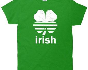Retro Irish Shamrock Clover T-Shirt