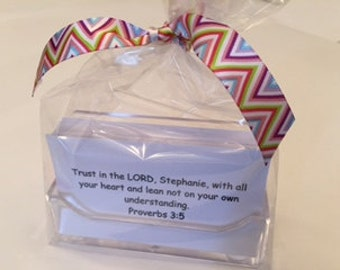PROVERBS Personalized Scripture Cards