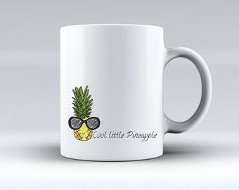 Pineapple 10floz mug