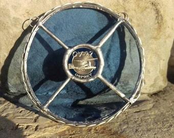Osprey Signature Design Challenge Coin Suncatchers