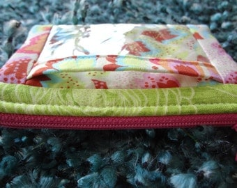 ID Zipper Pouch/Coin Purse / original pattern Cash and Carry by Atkinson Designs