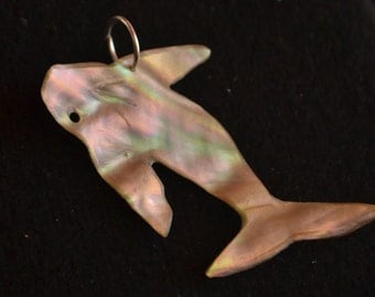 Jumping Whale Pendant