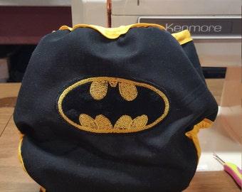 Batman Superhero Diaper Cover