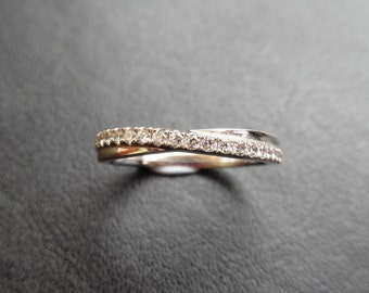 R27510 - Handmade Twist Band Ring