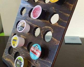 Countertop keurig coffee k-cup storage