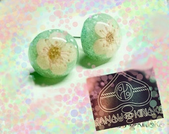 ★sale★ 桜色のピアス 【Cherryblossom color Pierced Earrings】