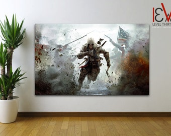 ASSASSINS CREED - Large Canvas Print *Various Sizes* Xbox One/PS4 110