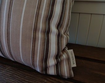 Vintage Striped Pillow Cover