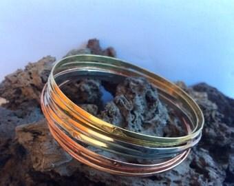 Bracelet / weekly artisan copper model Yurecua