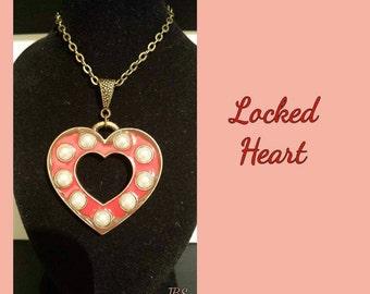 Locked Heart Necklace