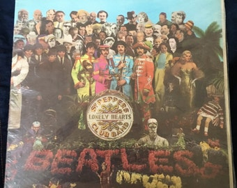 Sgt Peppers Lonely Hearts Club Band Etsy