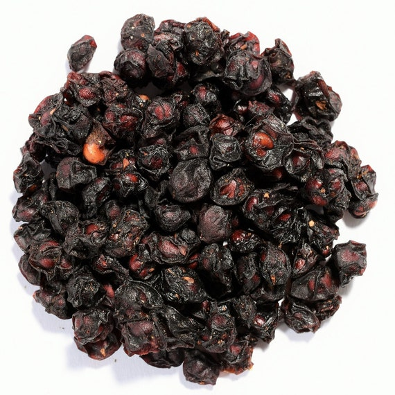 Schisandra Berry Organic Herbal Tea Herb Loose Leaf