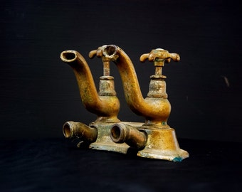 Antique French bathroom tap