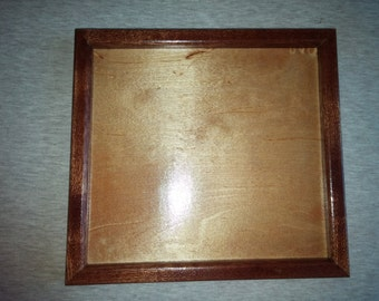 Hand Made Mahogany and Maple Candle Tray  !!Free Shipping!!