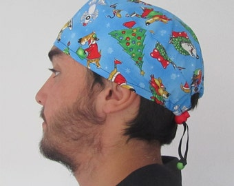 unique scrub hat related items etsy