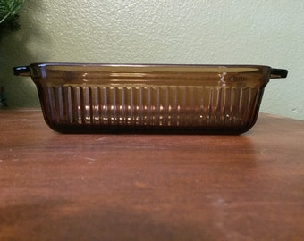 Vintage Anchor Hocking 1409 Loaf Pan/Dish