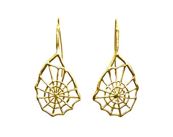 Spider Web Earring