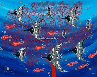 Red Coral Antics
