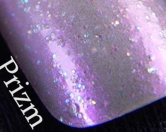 Iridescence Color Change Glitter Nail Polish - Prizm - Nail Lacquer Indie Nail Polish Custom Nail Polish by Skin Candy Cosmetics
