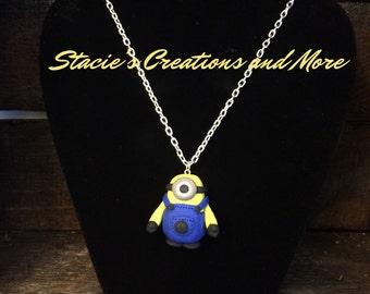 Minion Charm Necklace