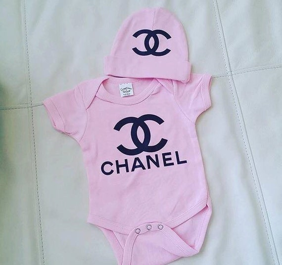 chanel baby outfit by KaylaAndRuby on Etsy