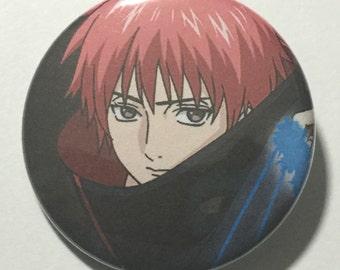 Naruto SASORI Button Anime