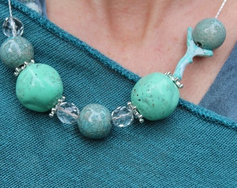 "Necklace ""sea colors"""