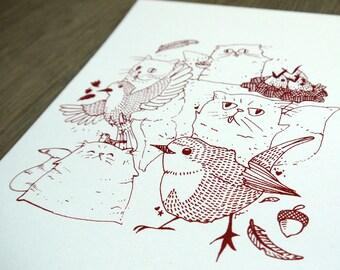 "Print ""CATS & READBREASTS"""