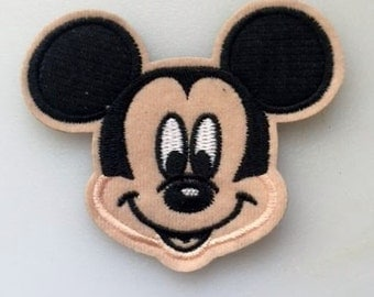 Disney Mickey Mouse Iron on or Sew on Patch