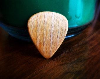 American Sycamore Handmade Guitar Pick