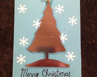 Handmade Christmas cards - Pack of 10 with Envelopes