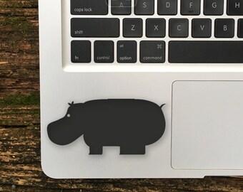 Hippo Sticker, Hippo Decal, Hippo Laptop Stickers, Hippo Macbook Stickers, Hippo, Hippo Laptop Decals