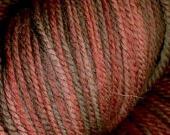 Jupiter Moon Farm Findley Dappled  DK Gradient Wool Silk Yarn