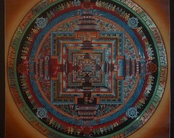 Original Meditation Mandala by Topke Lama